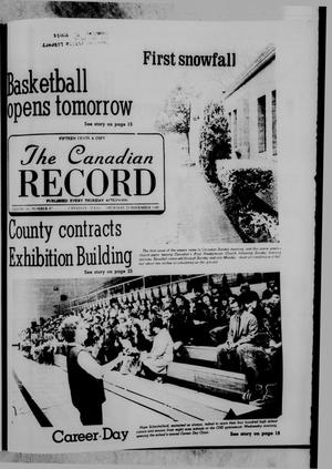 Primary view of object titled 'The Canadian Record (Canadian, Tex.), Vol. 91, No. 47, Ed. 1 Thursday, November 20, 1980'.