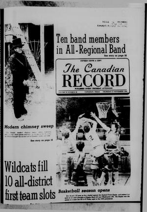 Primary view of object titled 'The Canadian Record (Canadian, Tex.), Vol. 91, No. 48, Ed. 1 Thursday, November 27, 1980'.
