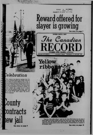 The Canadian Record (Canadian, Tex.), Vol. 92, No. 4, Ed. 1 Thursday, January 22, 1981