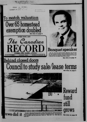 The Canadian Record (Canadian, Tex.), Vol. 92, No. 5, Ed. 1 Thursday, January 29, 1981