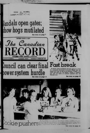Primary view of object titled 'The Canadian Record (Canadian, Tex.), Vol. 92, No. 6, Ed. 1 Thursday, February 5, 1981'.