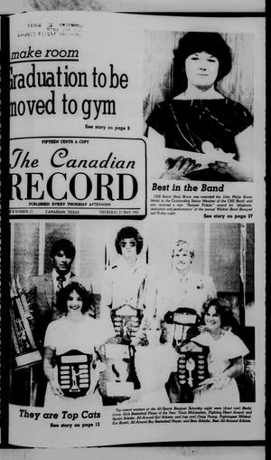 Primary view of object titled 'The Canadian Record (Canadian, Tex.), Vol. 92, No. 21, Ed. 1 Thursday, May 21, 1981'.