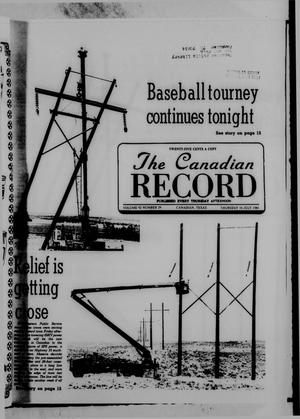 Primary view of object titled 'The Canadian Record (Canadian, Tex.), Vol. 92, No. 29, Ed. 1 Thursday, July 16, 1981'.