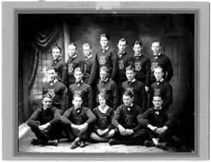 Primary view of object titled '[Weatherford College Glee Club, 1928-29]'.