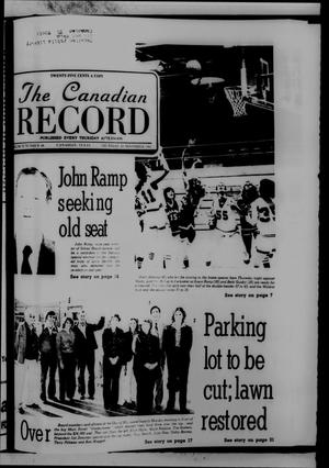 Primary view of object titled 'The Canadian Record (Canadian, Tex.), Vol. 92, No. 48, Ed. 1 Thursday, November 26, 1981'.
