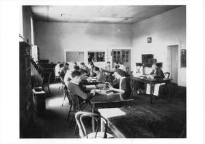 Primary view of object titled '[Classroom Interior at Weatherford College]'.
