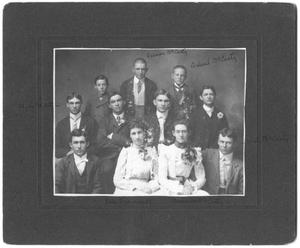 Primary view of object titled '[McCarty Family Picture]'.
