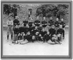 Primary view of object titled '[Weatherford College Football Team, 1916]'.