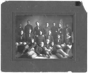 Primary view of object titled '[Weatherfor College Football Team, 1903]'.