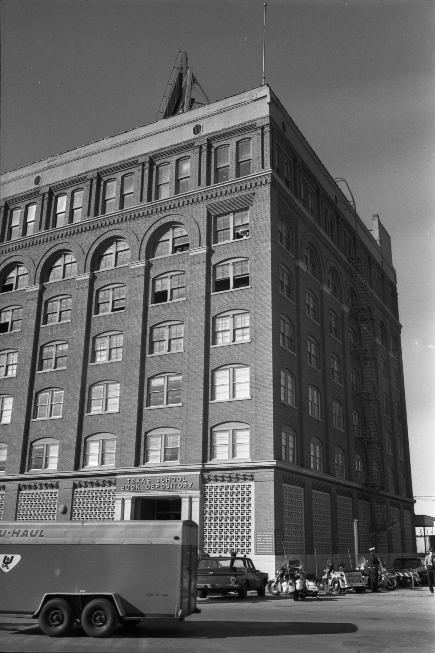 Exterior Of The Texas School Book Depository The