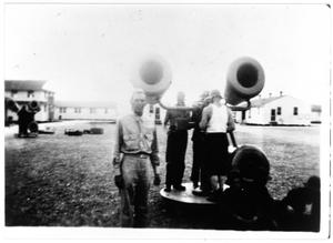 Primary view of object titled 'Sound detector at Camp Wallace'.