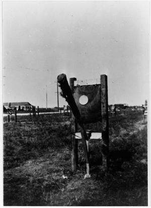 Primary view of object titled 'Bayonet Course, Camp Wallace'.
