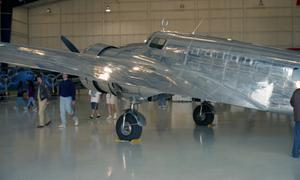 Primary view of object titled 'Camp Wallace Marker Dedication Ceremony -  hangar displays'.