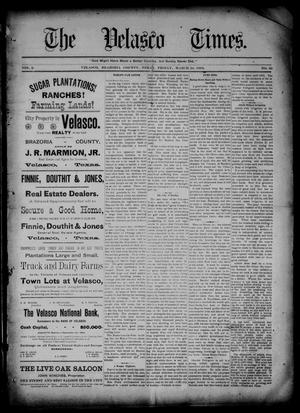 Primary view of object titled 'The Velasco Times (Velasco, Tex.), Vol. 2, No. 30, Ed. 1 Friday, March 24, 1893'.