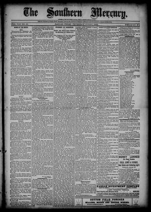 The Southern Mercury (Dallas, Tex.), Vol. 8, No. 23, Ed. 1 Thursday, June 6, 1889