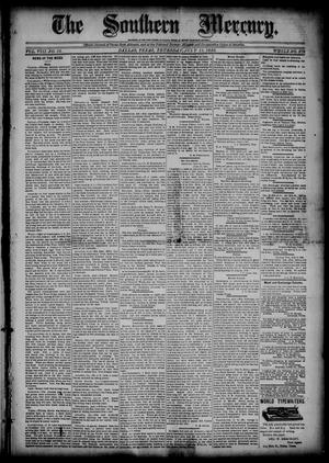 The Southern Mercury (Dallas, Tex.), Vol. 8, No. 28, Ed. 1 Thursday, July 11, 1889