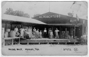 H. L. Roberts and Company Packing House, Hitchcock