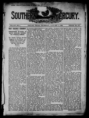 The Southern Mercury. (Dallas, Tex.), Vol. 14, No. 1, Ed. 1 Thursday, January 3, 1895