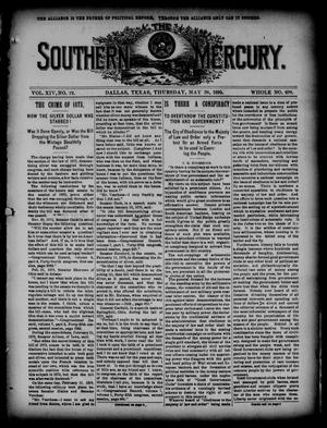 The Southern Mercury. (Dallas, Tex.), Vol. 14, No. 22, Ed. 1 Thursday, May 30, 1895