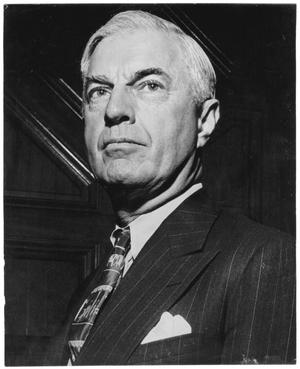Primary view of object titled '[William Lockhart Clayton Portrait taken at Savannah Conference, 1946]'.