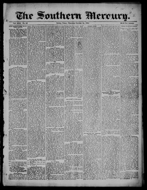 Primary view of The Southern Mercury. (Dallas, Tex.), Vol. 22, No. 42, Ed. 1 Thursday, October 16, 1902