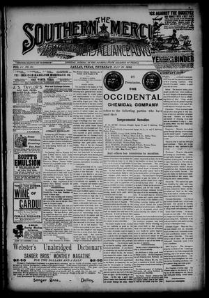 The Southern Mercury, Texas Farmers' Alliance Advocate. (Dallas, Tex.), Vol. 9, No. 22, Ed. 1 Thursday, May 29, 1890