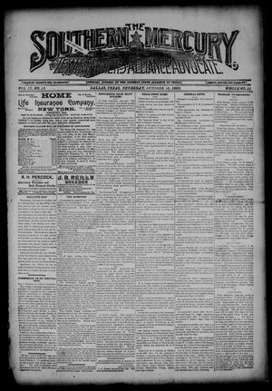 The Southern Mercury, Texas Farmers' Alliance Advocate. (Dallas, Tex.), Vol. 9, No. 42, Ed. 1 Thursday, October 16, 1890