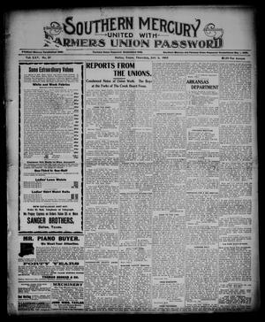 Southern Mercury United with the Farmers Union Password. (Dallas, Tex.), Vol. 25, No. 27, Ed. 1 Thursday, July 6, 1905