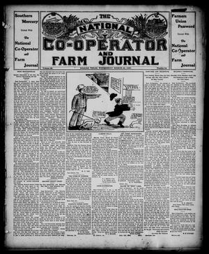 Primary view of object titled 'The National Co-operator and Farm Journal (Dallas, Tex.), Vol. 28, No. 24, Ed. 1 Wednesday, March 20, 1907'.