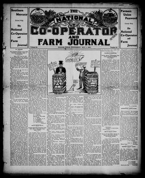 Primary view of object titled 'The National Co-operator and Farm Journal (Dallas, Tex.), Vol. 28, No. 30, Ed. 1 Wednesday, May 1, 1907'.