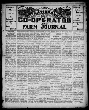 Primary view of object titled 'The National Co-operator and Farm Journal (Dallas, Tex.), Vol. 28, No. 31, Ed. 1 Wednesday, May 8, 1907'.
