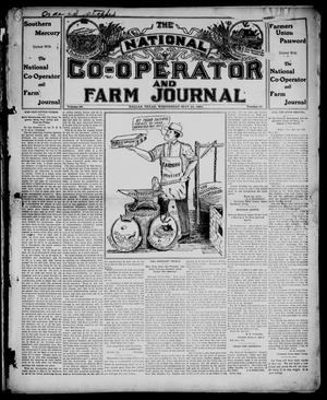 Primary view of object titled 'The National Co-operator and Farm Journal (Dallas, Tex.), Vol. 28, No. 33, Ed. 1 Wednesday, May 22, 1907'.