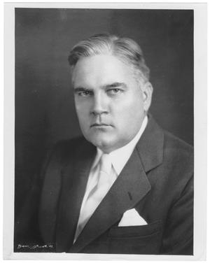 Primary view of object titled '[Formal portrait of George A. Hill, Jr.]'.