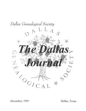 Primary view of object titled 'The Dallas Journal, Volume 41, 1995'.