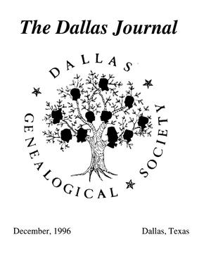 Primary view of object titled 'The Dallas Journal, Volume 42, 1996'.