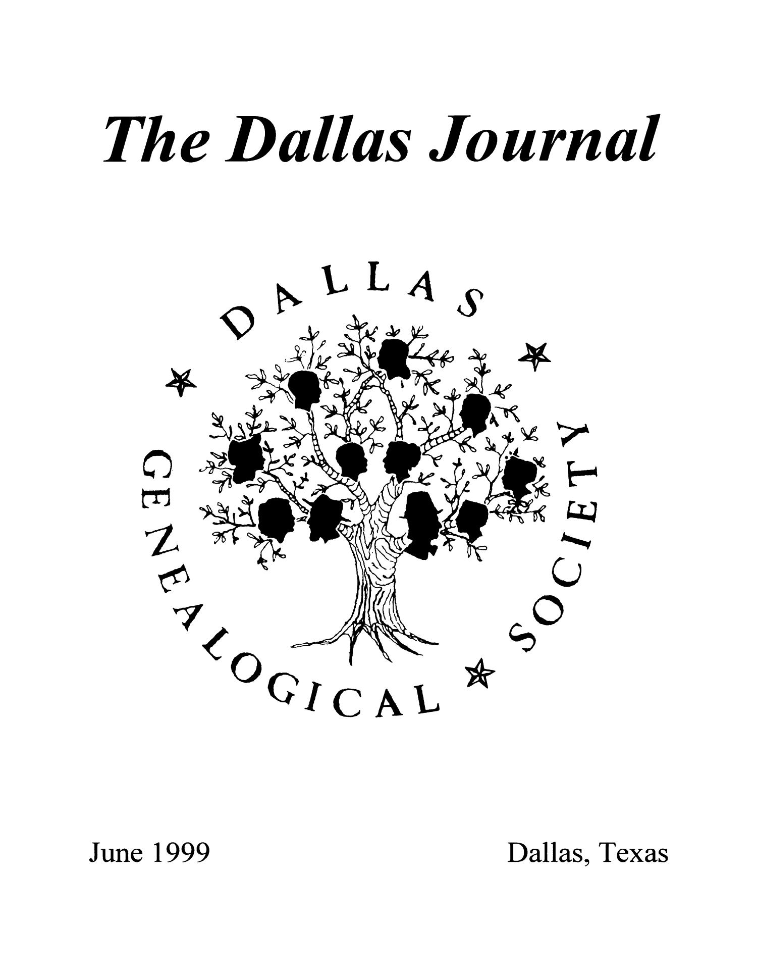 The Dallas Journal, Volume 44, 1999                                                                                                      Front Cover