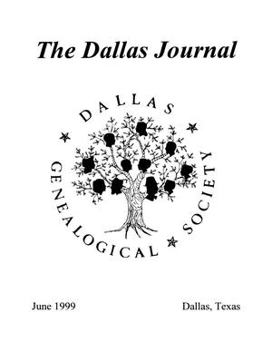 Primary view of object titled 'The Dallas Journal, Volume 44, 1999'.