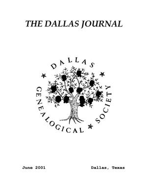 Primary view of object titled 'The Dallas Journal, Volume 47, 2001'.