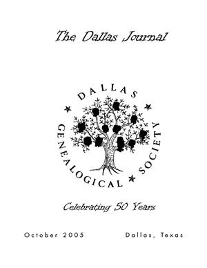 Primary view of object titled 'The Dallas Journal, Volume 51, 2005'.