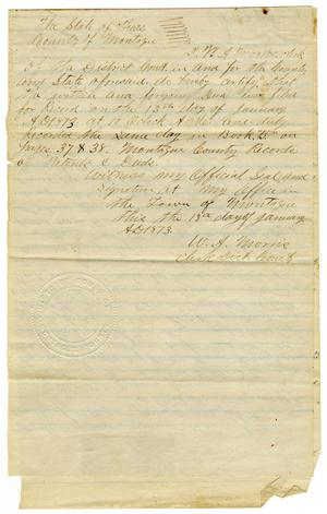 [Deed of  Conveyance, July 9, 1868]