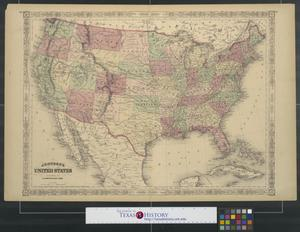 Primary view of object titled 'Johnson's United States.'.