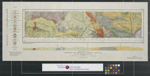Primary view of object titled 'Geology of the forty-ninth parallel sheet no. 10, map 83 A.'.