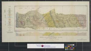 Primary view of object titled 'Geology of the forty-ninth parallel sheet no. 14, map 87 A.'.