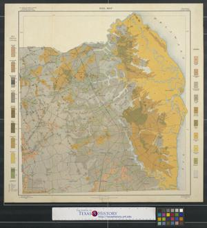 Primary view of object titled 'Soil map, Delaware, Kent County'.