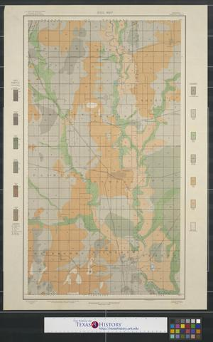 Primary view of object titled 'Soil map, Kansas, Labette County'.