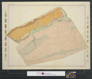 Primary view of object titled 'Soil map, Pennsylvania, Clinton County'.