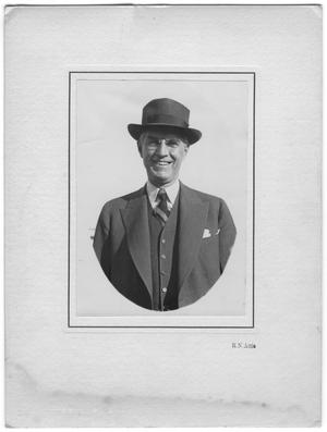 Primary view of object titled '[Portrait of William Lockhart Clayton with hat]'.