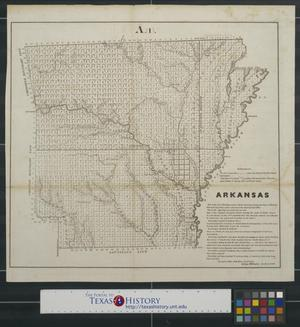 Primary view of object titled 'Arkansas.'.