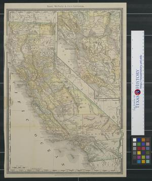 Primary view of object titled 'Rand, McNally & Co.'s California.'.