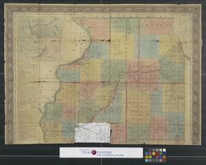 Primary view of object titled '[Map of upper Illinois]'.